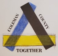 COLEMAN COUNTY TOGETHER logo