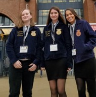 FFA National Convention attendees