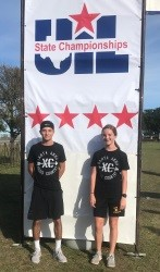Hannah, Domanic at State Meet