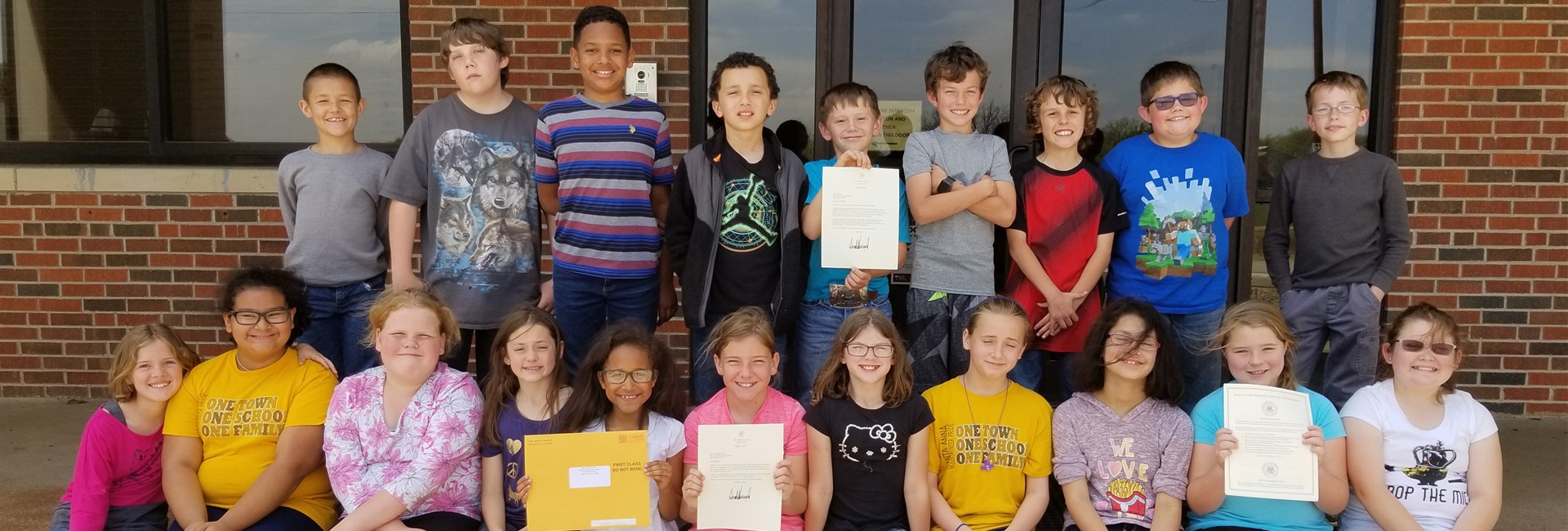 4th Graders Receive Letters From President Trump