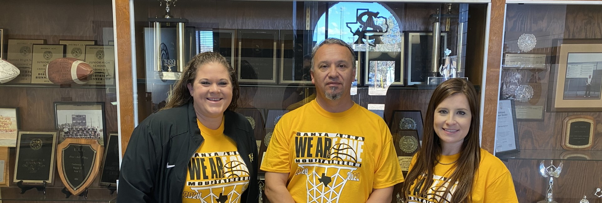 JH/HS Office Staff: Ms. Donham - Campus Secretary, Mr. Morales - Principal, Ms. Fitzpatrick - Dean of Students