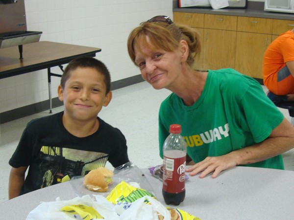 Third and Fourth Grade Grandparents Lunch September 11,2019