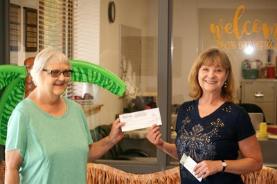 Check presentation from library