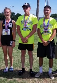 Hannah, Jake, Domanic advance to state track meet