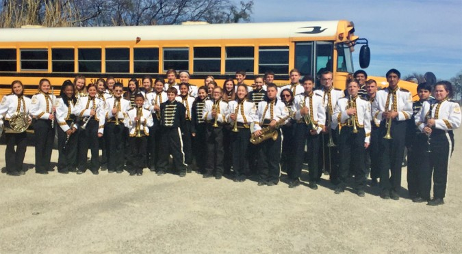 Mountaineer Band Travels to Eula