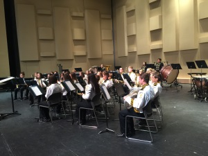 band performs at UIL Concert & Sigtreading contest