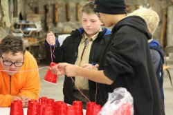 Boy Scouts make project out of solo cup