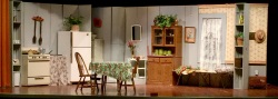 Theater set for One Act Play