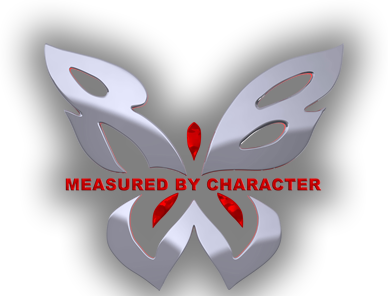 Measured by Character logo