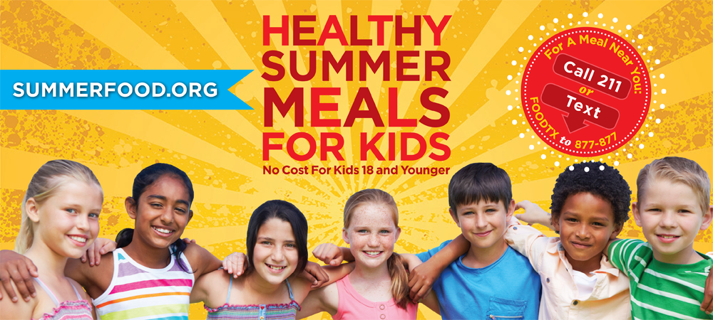 Healthy Summer Meals poster