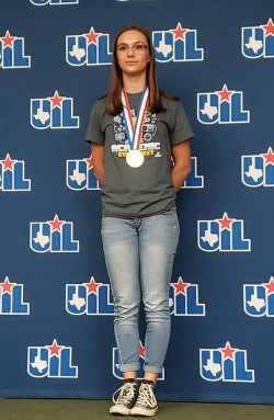 Marin with State medal UIL calculator appls
