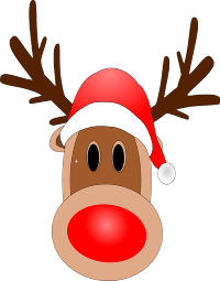 Image result for candy cane reindeer
